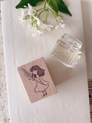 msbulat New Beginnings Rubber Stamp