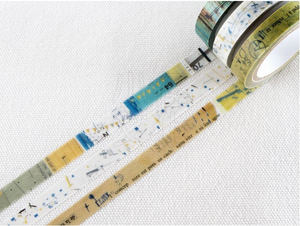 Chamil Garden Season Colour Washi Tape- Ominaeshi(MTW-CH281)