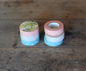 Classiky Small Flower Washi Tape (Set of 3)