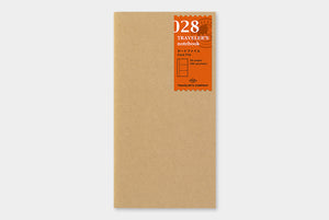Traveler's Notebook Refill - Regular Size - 028 Card File