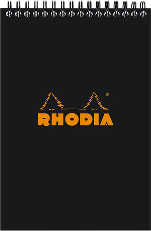 Rhodia - No 16 Top Wirebound Grid Black