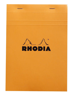 Rhodia - No 16 Top Staplebound Grid Orange