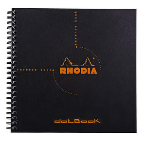Rhodia- Reverse Book Dot Grid