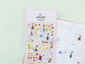 Suatelier Diet Stickers