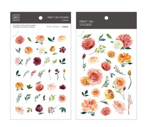 MU Print-On Stickers-044 Sunshine Roses