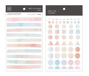 MU Print-On Stickers-042Geometric Pastel Watercolour