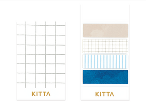 KITTA Washi Tape-KIT041 Linen