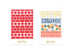 KITTA Washi Tape-KIT043 Tile