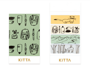 KITTA Washi Tape-KIT048 Outdoor