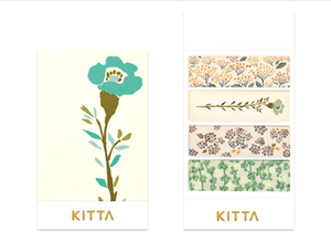 KITTA Washi Tape-KIT049 Flower