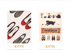 KITTA Washi Tape-KIT050 Daily Life