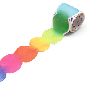 MT Fab Blurred Water Color Paint Washi Tape MTKT1P05