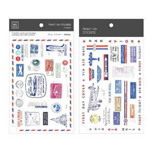 MU Print-On Stickers-130 First Day Cover