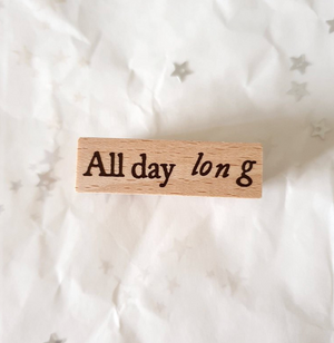 Yeoncharm All Day Long Rubber Stamp