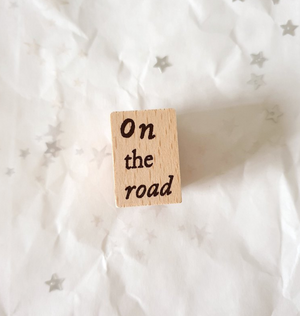 Yeoncharm On the Road Rubber Stamp