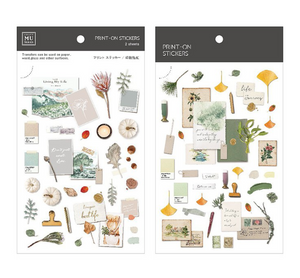 MU Print-On Stickers-138 Summer Mood Board