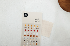 Suatelier Mini Series Stickers- Food .02