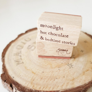 Yeoncharm Bedtime Stories Rubber Stamp