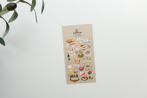 Suatelier - Stickers - Food Trip #3
