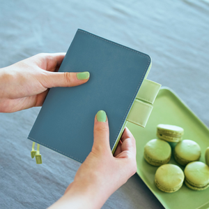 Hobonichi Techo 2021 Planner - Colors: Blue Pistachio A6
