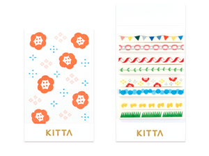 KITTA Slim Washi Tape -KITS004 Celebration
