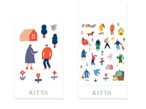 KITTA Seal Washi Tape -KITD013 Icon (Town)