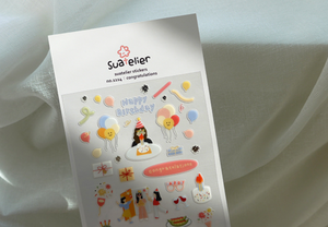 Suatelier Congratulations Stickers
