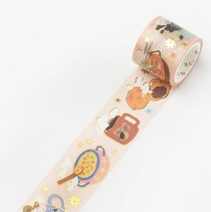 BGM Winter: Dining Table Washi Tape