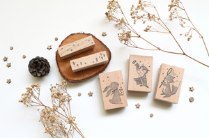 Eileen Tai x Whimsy Whimsical Rubber Stamp Set