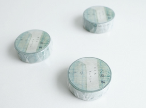Yohaku Original Washi Tape- (Y-064) Element