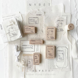 Nyret Always Rubber Stamp Set