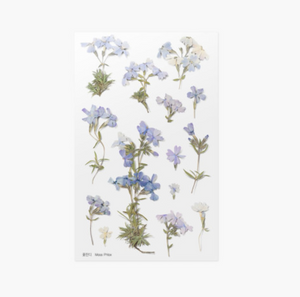 Appree Pressed Stickers- 030 Moss Phlox