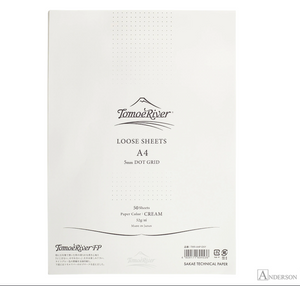 Tomoe River Loose Sheets: A4 Dot Grid Cream 50 Sheets