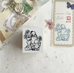 Nico Neco x PEPIN Rubber Stamp: Best Friends