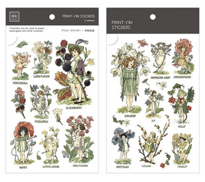 MU Print-On Stickers-062 Little Forest Fairy