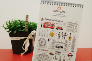 Suatelier - Stickers - Days In London