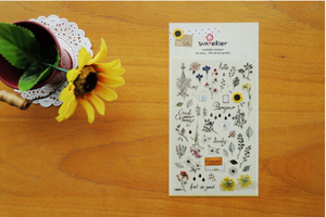 Suatelier - Stickers - The Secret Garden