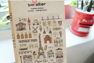Suatelier - Stickers - Midnight Paris