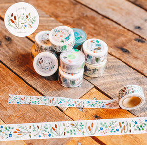 Autumn Garden Washi Tape