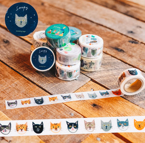 Cat's Face Washi Tape