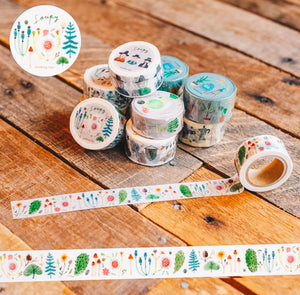 Magical Garden Washi Tape