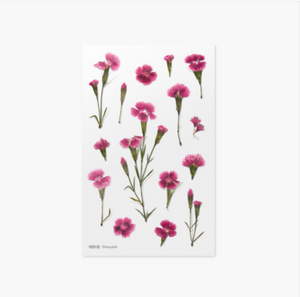 Appree Pressed Stickers- 013 China Pink