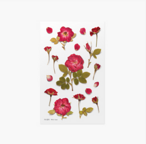 Appree Pressed Stickers- 015 Mini Rose
