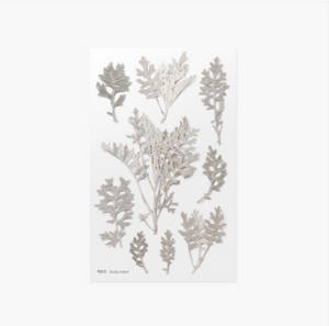 Appree Pressed Stickers- 018 Dusty Miller