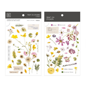 MU Print-On Stickers-103 Where Flowers Bloom