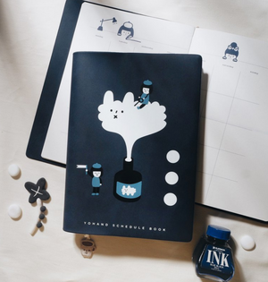 Ink and Inspiration Undated Schedule Book