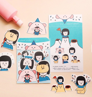 Hide and Seek Sticker Pack (Set of 5)
