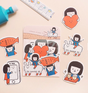 Adventure Sticker Pack (Set of 5)