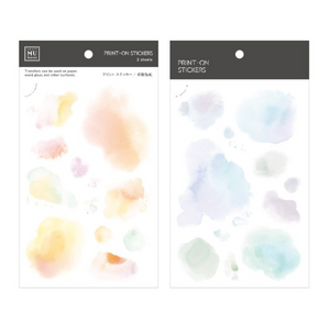 MU Print-On Stickers-113 Pastel Clouds