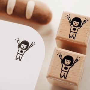 Cheer Rubber Stamp